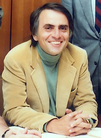 Photo of Carl Sagan, acclaimed astrophysicist