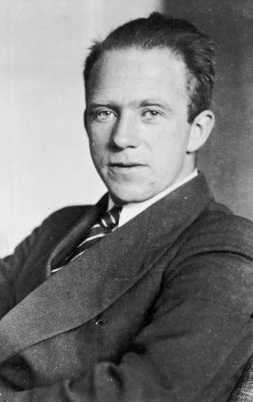 Photograph of Werner Karl Heisenberg--a German physicist and one of the many fathers of quantum mechanics.