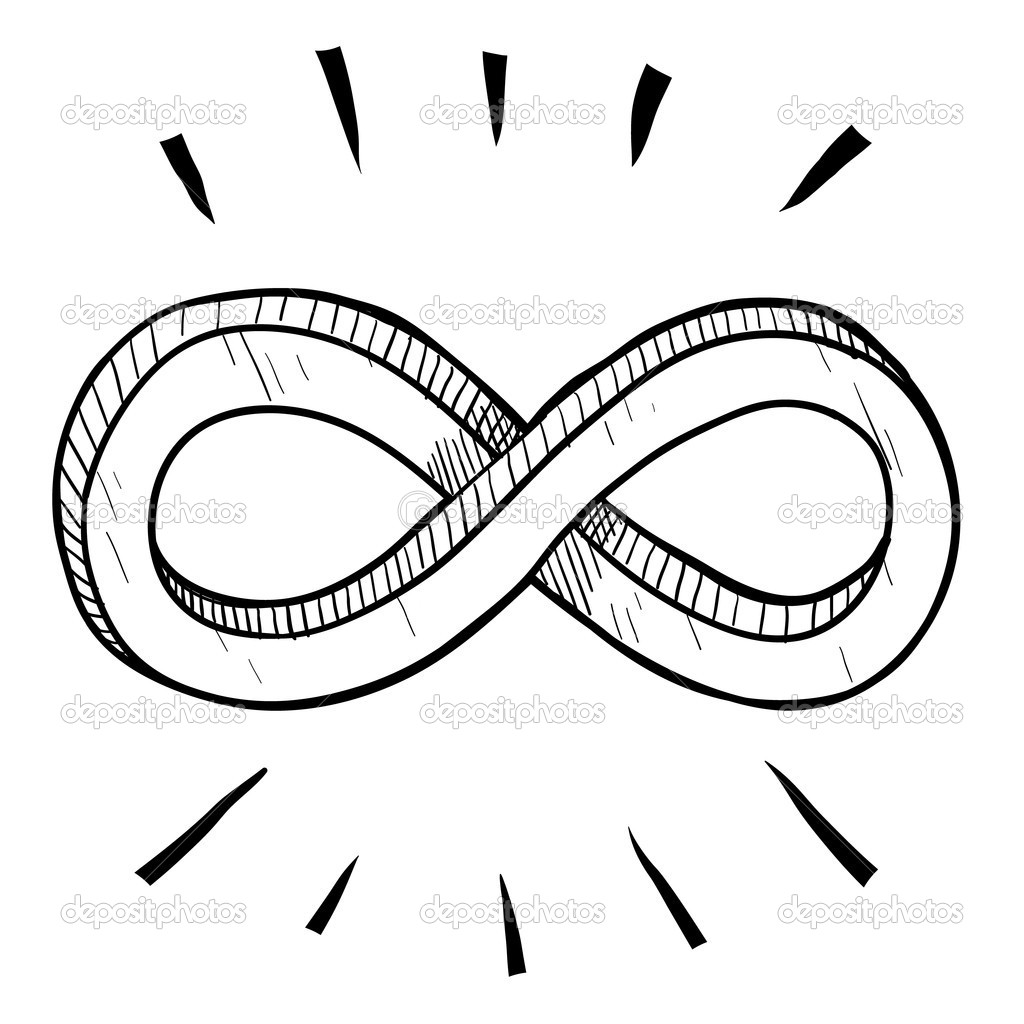 Image of the classic, figure-eight symbol for Infinity
