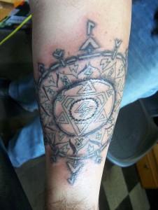Tattoo, linework