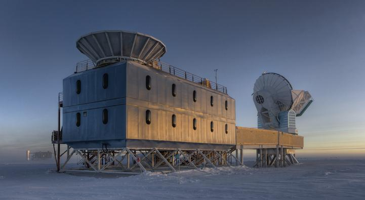 BICEP2 Observatory, at the South Pole