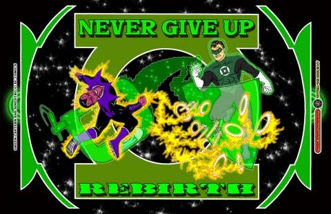 Green Lantern Rebirth Tribute ~ Spring 2005