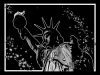 Annie: Statue of Liberty, stark