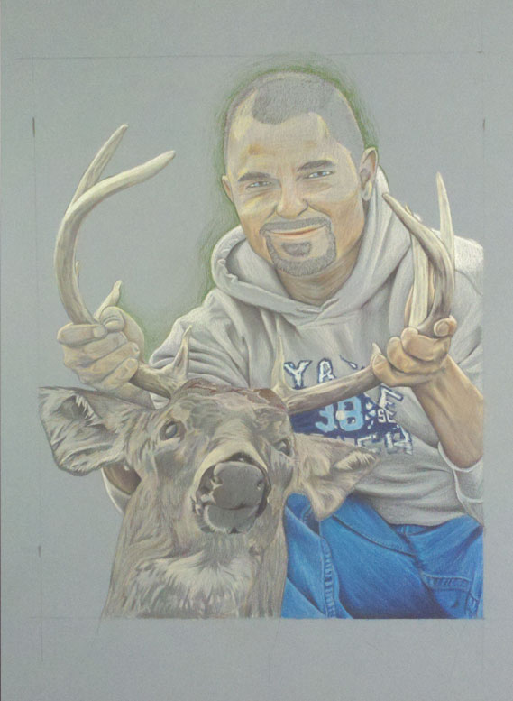 Commemorative Portrait of Joshua Weage