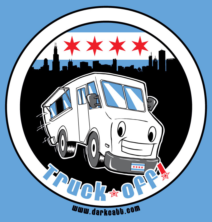 Client: Truck-Off! - Logo ~ Adobe Photoshop/Illustrator ~ Chicago, IL ~ Spring 2013