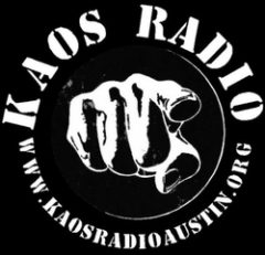 Follow Us on KAOS Radio Austin